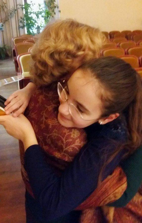 Eva & Dna. Prof. Mihaela Zamfirescu